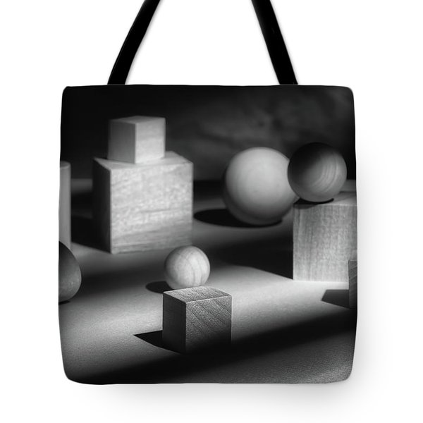 Geometric Shapes Tote Bag