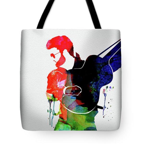 George Watercolor Tote Bag