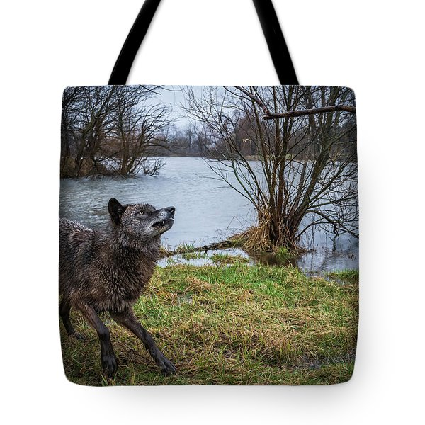 Get The Stick Tote Bag