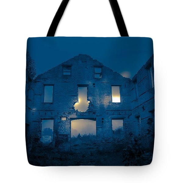 Ghost Castle Tote Bag