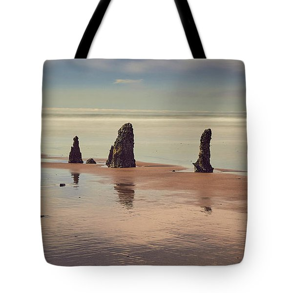 Tote Bag featuring the photograph Ghost Forest by Whitney Goodey