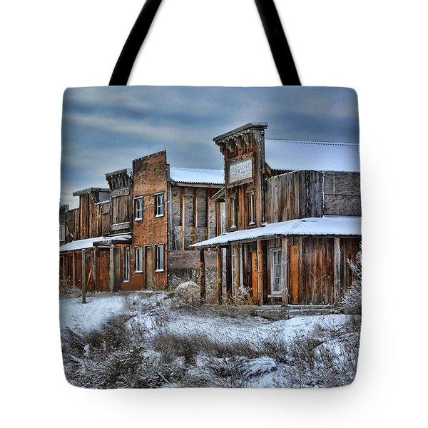 Ghost Town Tote Bag