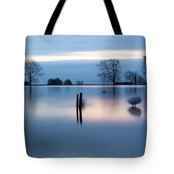 Ghostly Geese  Tote Bag