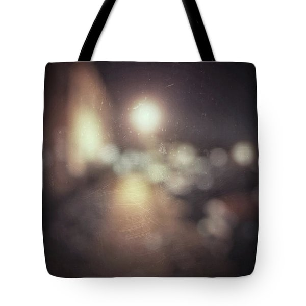 Tote Bag featuring the photograph ghosts III by Steve Stanger