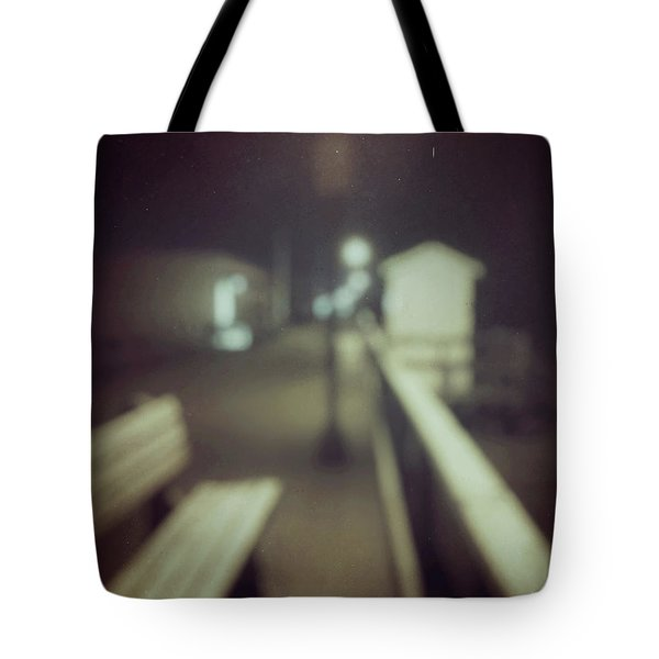 Tote Bag featuring the photograph ghosts IV by Steve Stanger