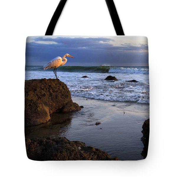 Giant Egret Tote Bag
