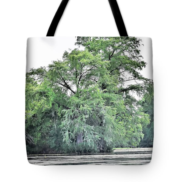 Giant River Tree Tote Bag