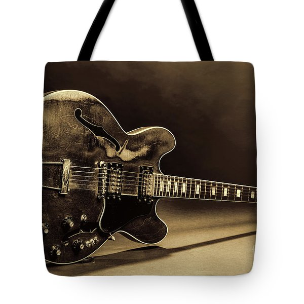 Gibson Guitar Images On Stage 1744.015 Tote Bag