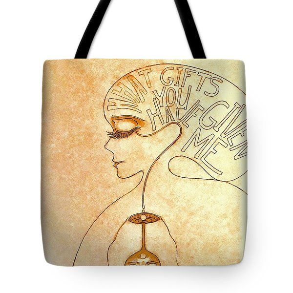Gifts Of The Mind Tote Bag