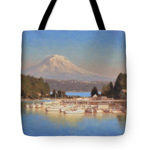 Gig Harbor - Afternoon Sun Tote Bag