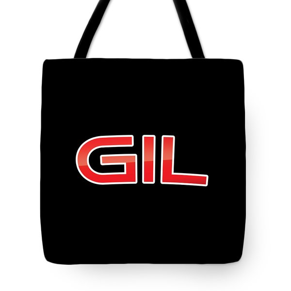 Tote Bag featuring the digital art Gil by TintoDesigns