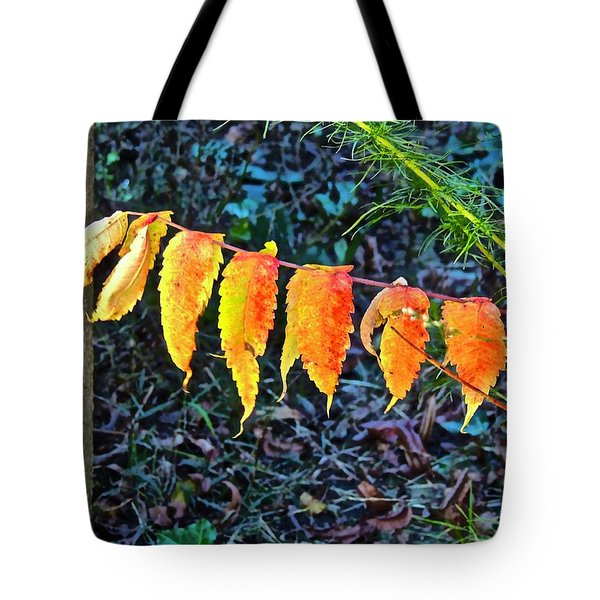 Tote Bag featuring the photograph Gilding Gold Leaf by Don Moore