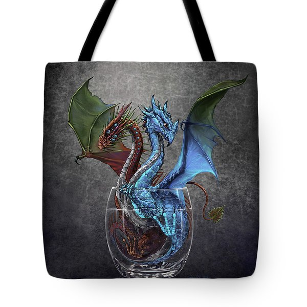 Gin And Tonic Dragon Tote Bag