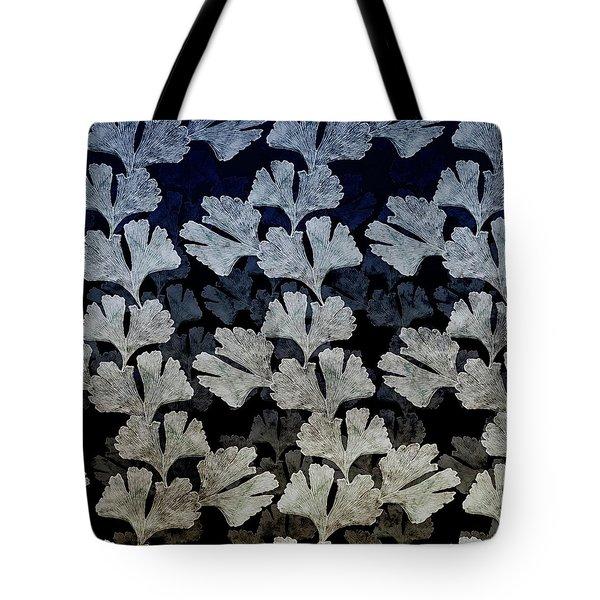 Ginko Leaf Pattern Tote Bag