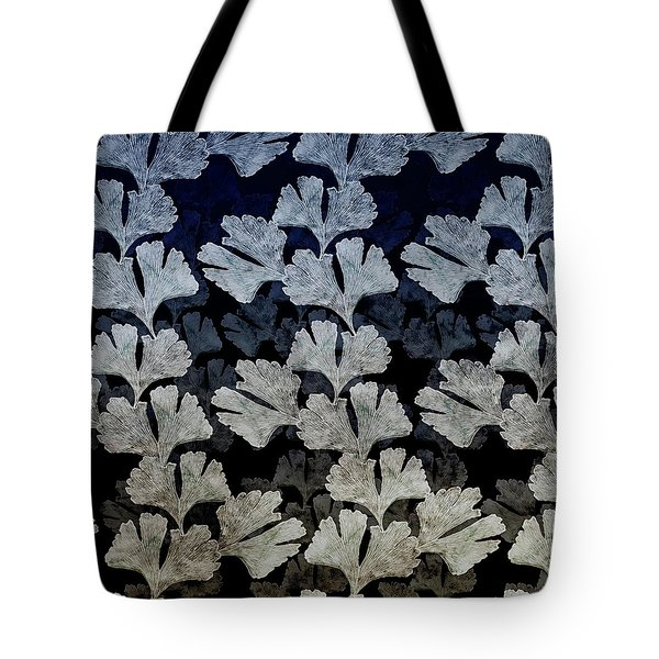 Ginko Leaf Pattern Tote Bag