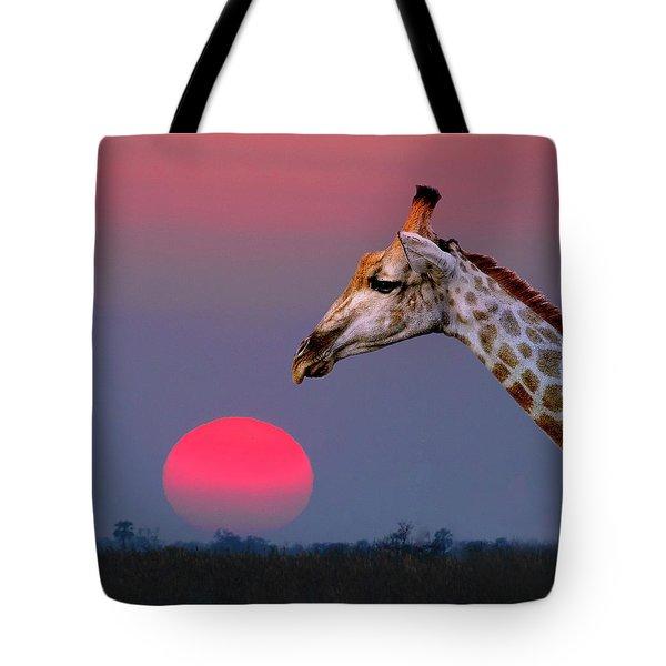 Giraffe Composite Tote Bag