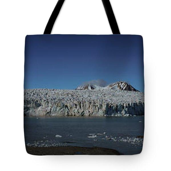 Glacier Svalbard Tote Bag