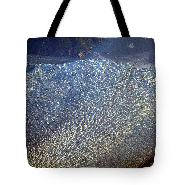 Glacier Texture Tote Bag
