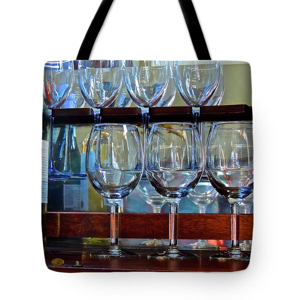 Tote Bag featuring the photograph Glass Act... by Don Moore