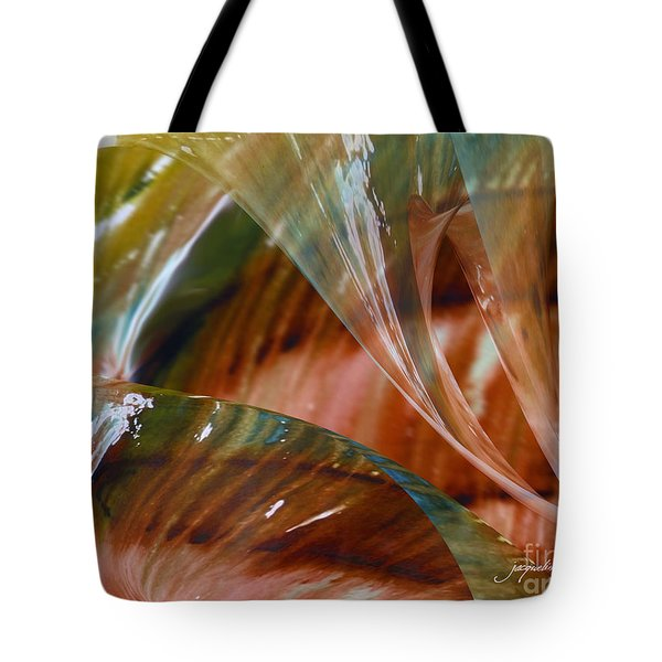 Glass Blowing Dance Tote Bag