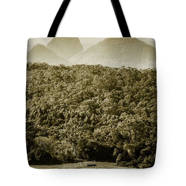 Glass House Mountains Tote Bag