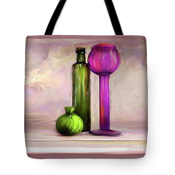 Glass On Glass Tote Bag
