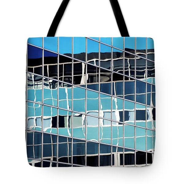 Glass Steel Reflections Tote Bag