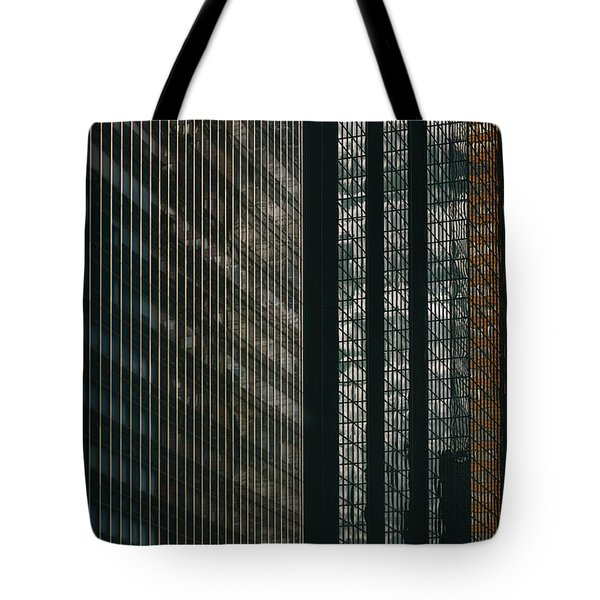 Glass Walls Tote Bag