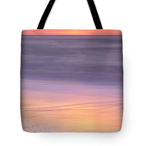Tote Bag featuring the photograph Gleneden Beach Sunset by Whitney Goodey