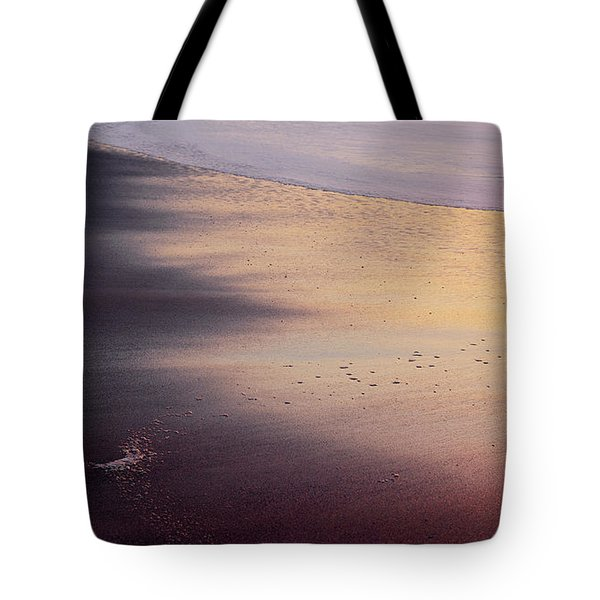 Tote Bag featuring the photograph Gleneden Glow by Whitney Goodey