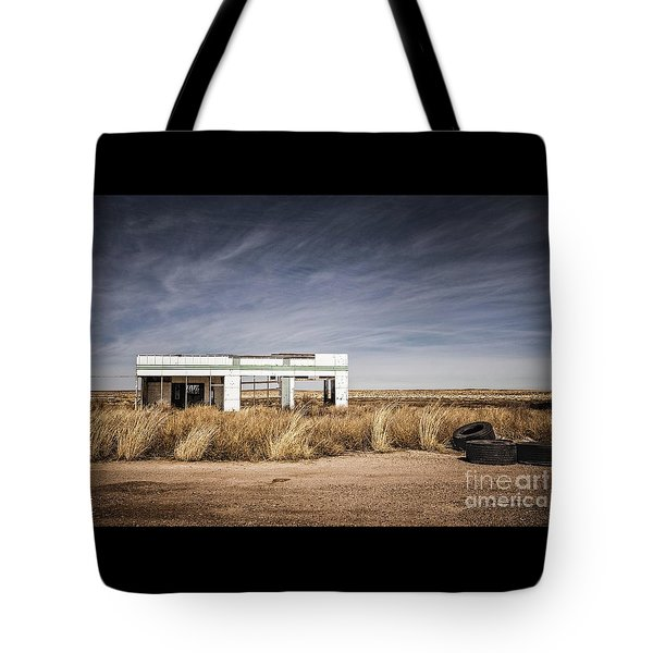 Glenrio Abandoned Gas Station  Tote Bag