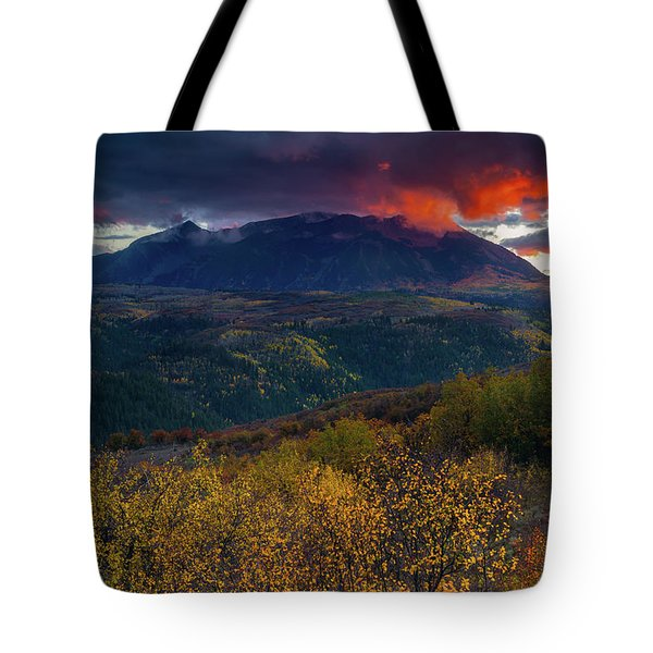 Tote Bag featuring the photograph Glimpse Of Heaven by John De Bord