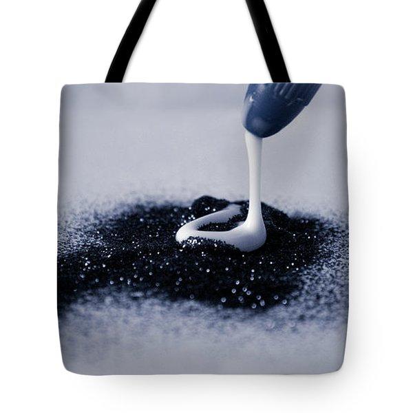 Glitter And Glue Tote Bag