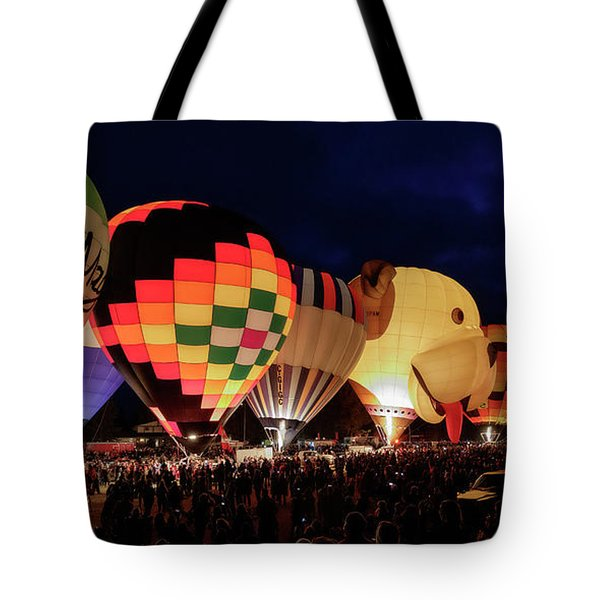 Tote Bag featuring the photograph Glow by Brad Allen Fine Art