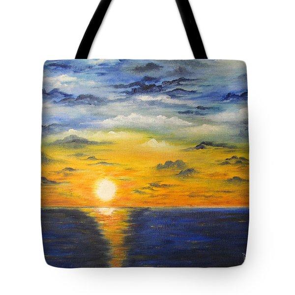 Glowing Sun Tote Bag