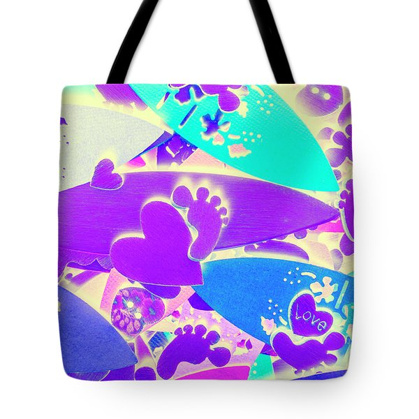 Gnarly Wipeout Tote Bag