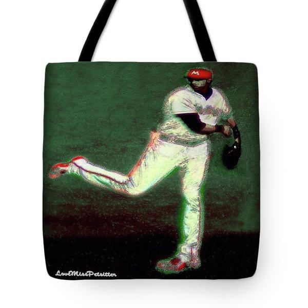Go Yelich Baseball Art 1 Tote Bag