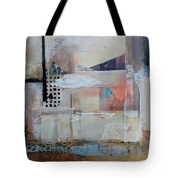 Tote Bag featuring the painting Gobi by Jillian Goldberg