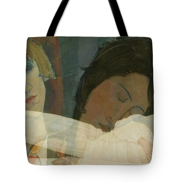 God Help The Mister Who Comes Between Me And My Sister Tote Bag