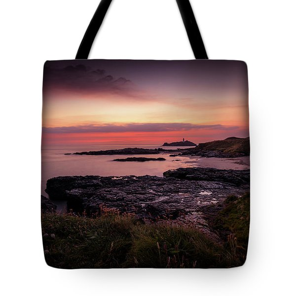 Godrevy Sunset - Cornwall Tote Bag
