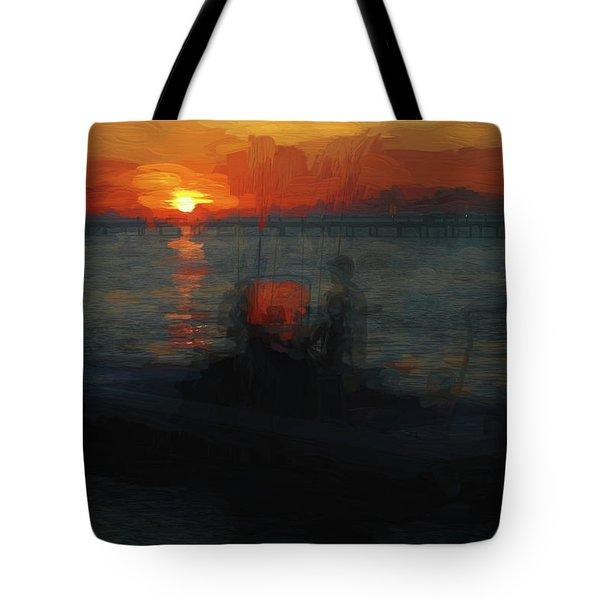 Going Fishin' Tote Bag