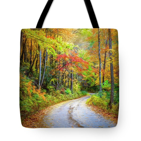 Going For The Gold Painting Tote Bag