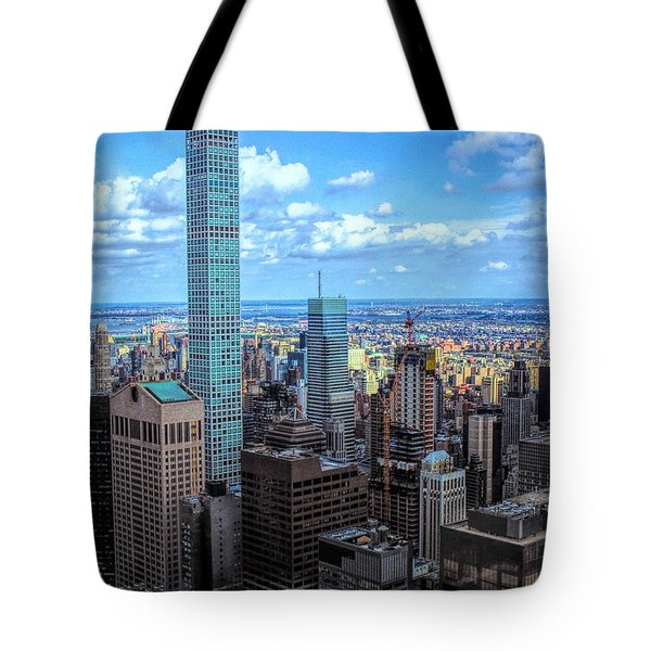 Going Out Of Sight Tote Bag