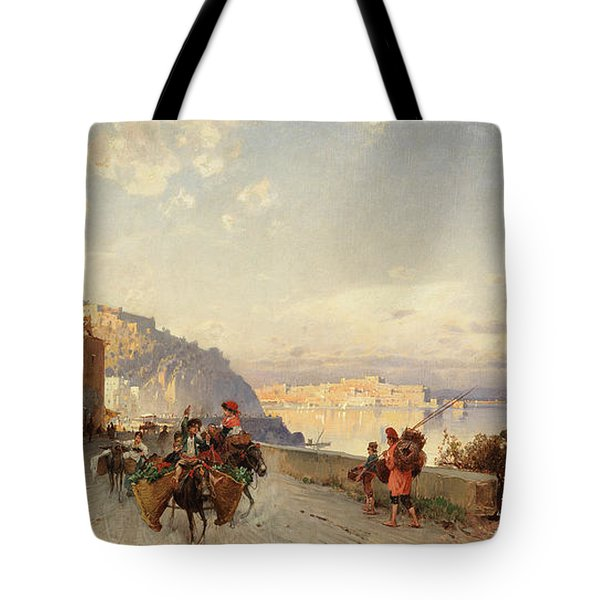 Going To Market, Naples Tote Bag