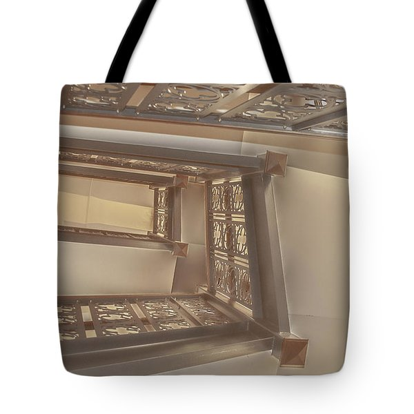 Going Up...evens Hall Carleton College Tote Bag
