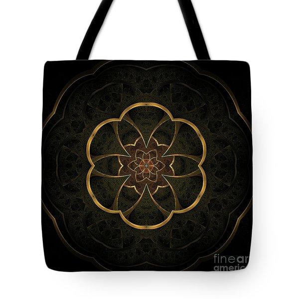 Gold Inlay Tote Bag