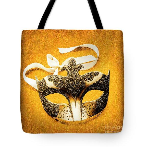 Golden Gala Tote Bag