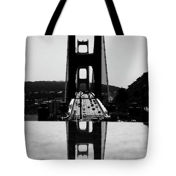 Golden Gate Reflection Tote Bag