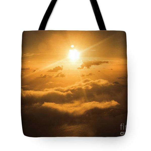 Golden Glow Tote Bag