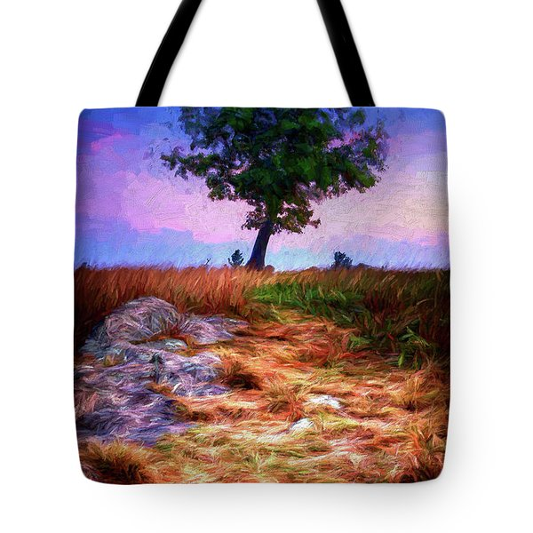 Golden Grasses Of Autumn Ap Tote Bag